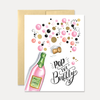 Lily & Val - Pop The Bubbly - A2 Note Card