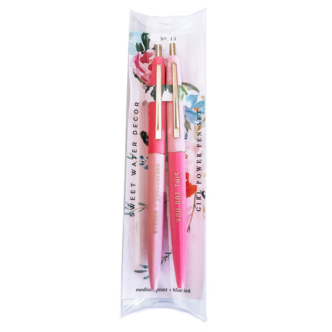 Sweet Water Decor - Girl Power Pen Set