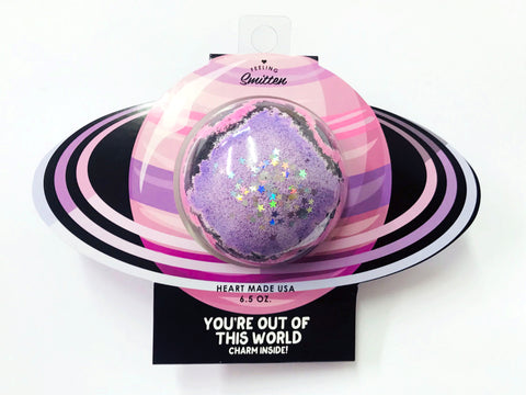 Feeling Smitten - You're Out of This World Bath Bomb (Clamshell Packaging)