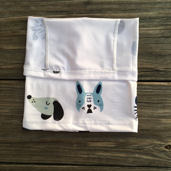 Children's Neck Gaiter/face mask - Dog