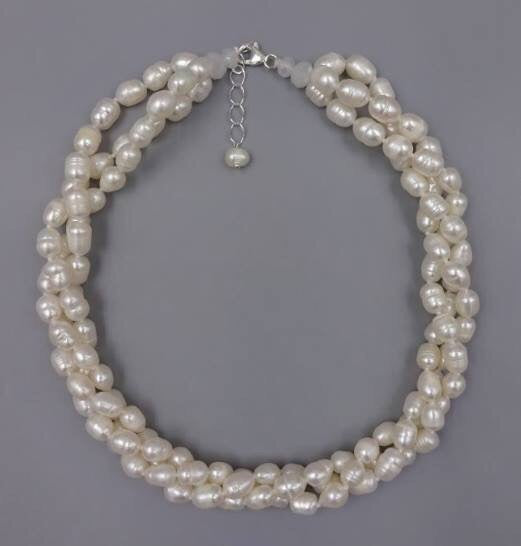 Freshwater Pearl 3 strand Necklace