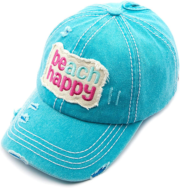 Beach Happy ponytail hat - CC brand