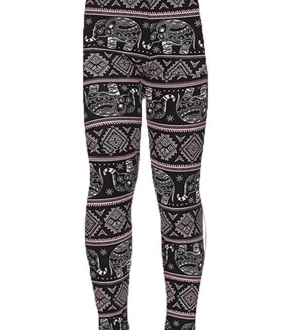 Pink Elephant Kids LUSH Leggings Large