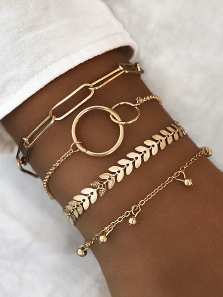 Gold Rush Bracelet Stack