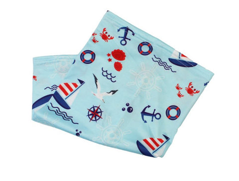 Children's Neck Gaiter/face mask - Sail Away