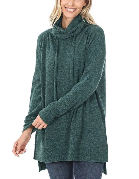 Brandi Tunic - hunter green