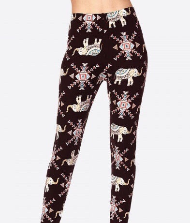 Blush Elephant LUSH Leggings