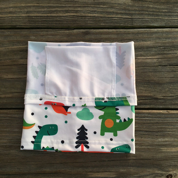 Children's Neck Gaiter/face mask - Dinosaur