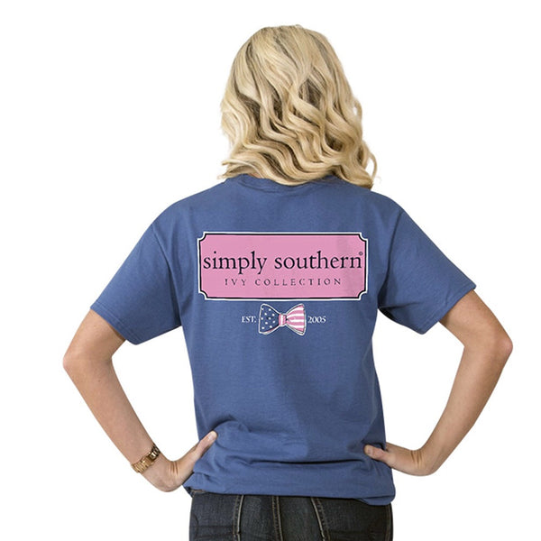 Simply Southern Preppy Ivy Collection Tee