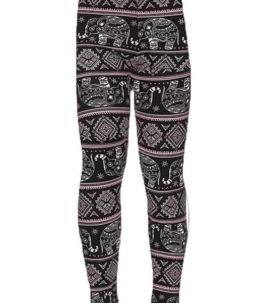 Pink Elephant Kids LUSH Leggings SMALL