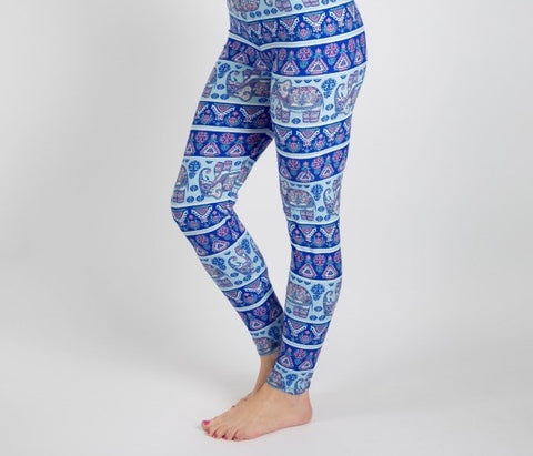 Blue Elephant LUSH Leggings