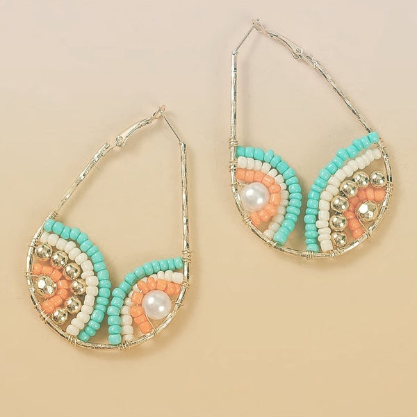 Jennie beaded earrings