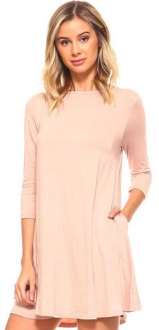 Blush Basic Tunic