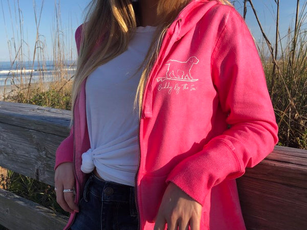 Buddy by the Sea Pawsome Paisley ZIP Hoodie