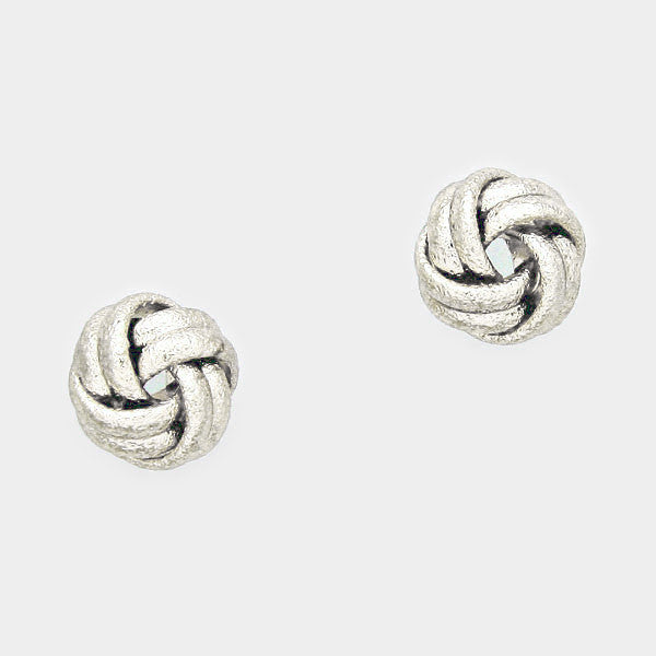 Love Knot Earrings-Maid of Honor