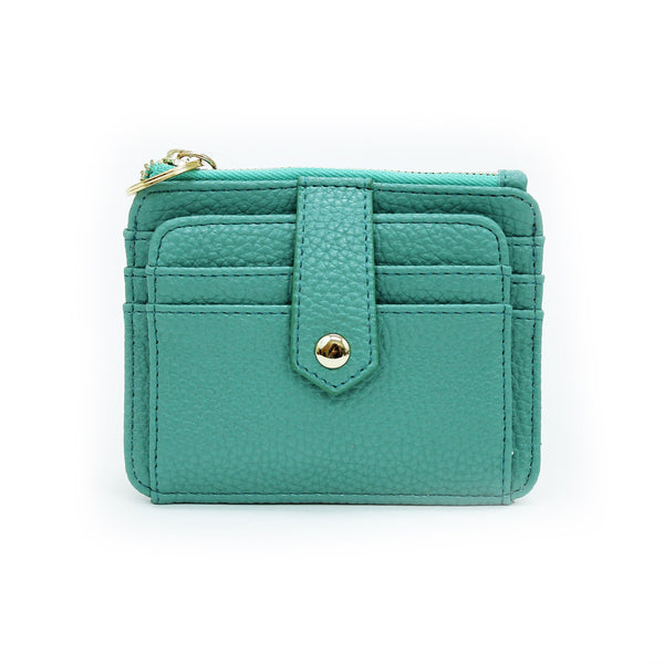 Mary Square Wallet Teal