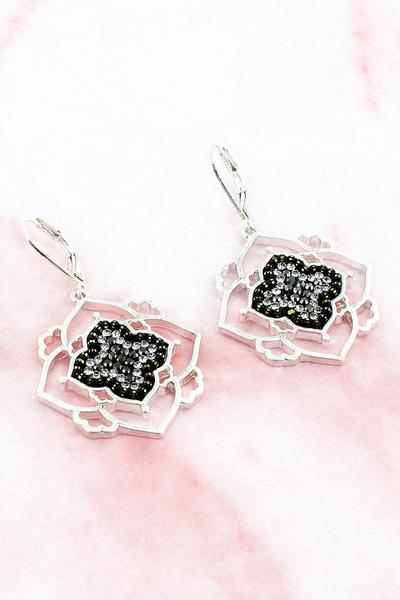 Moroccan Leverback Earrings
