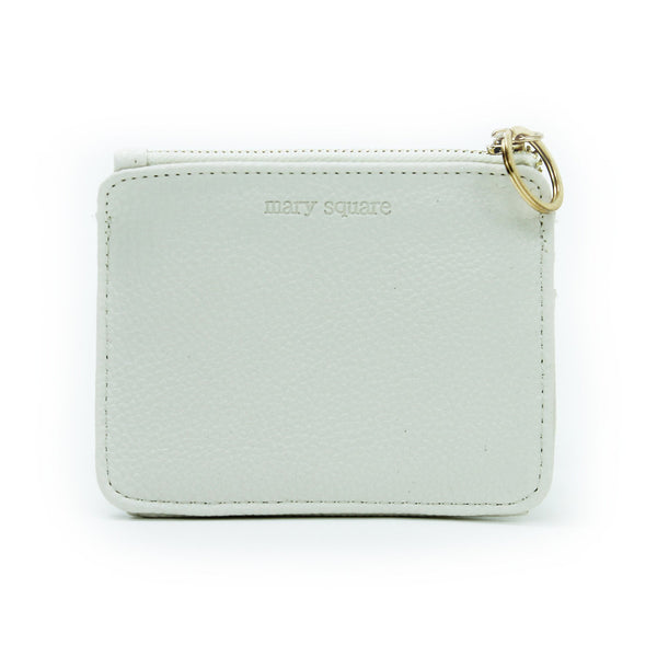 Mary Square Wallet Cream