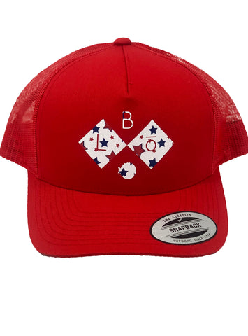 DIAMOND. | SNAP-BACK MESH | 4th of July Edition