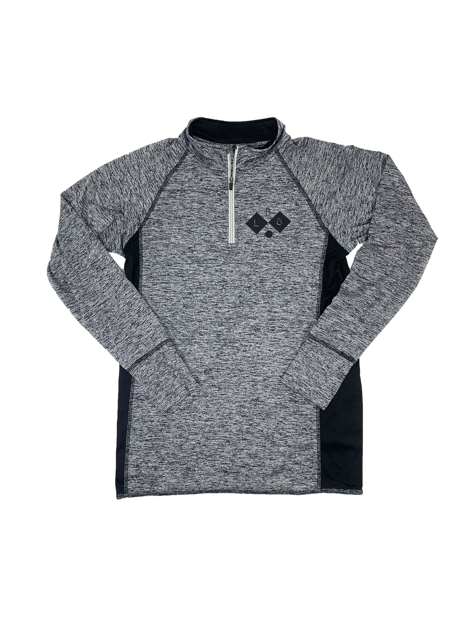 GO RUN. | 1/4 ZIP |