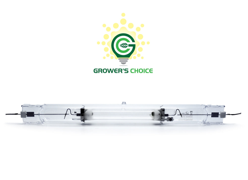Grower's Choice 6K 600W DE MH Double Ended Metal Halide Grow Light Lamp