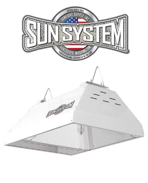 Sun System LEC 315W CMH Ceramic Metal Halide Light Fixture 120v 3100k