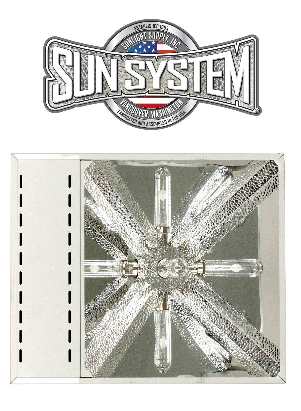 Sun System LEC 315W CMH Ceramic Metal Halide Light Fixture 240v 3100k