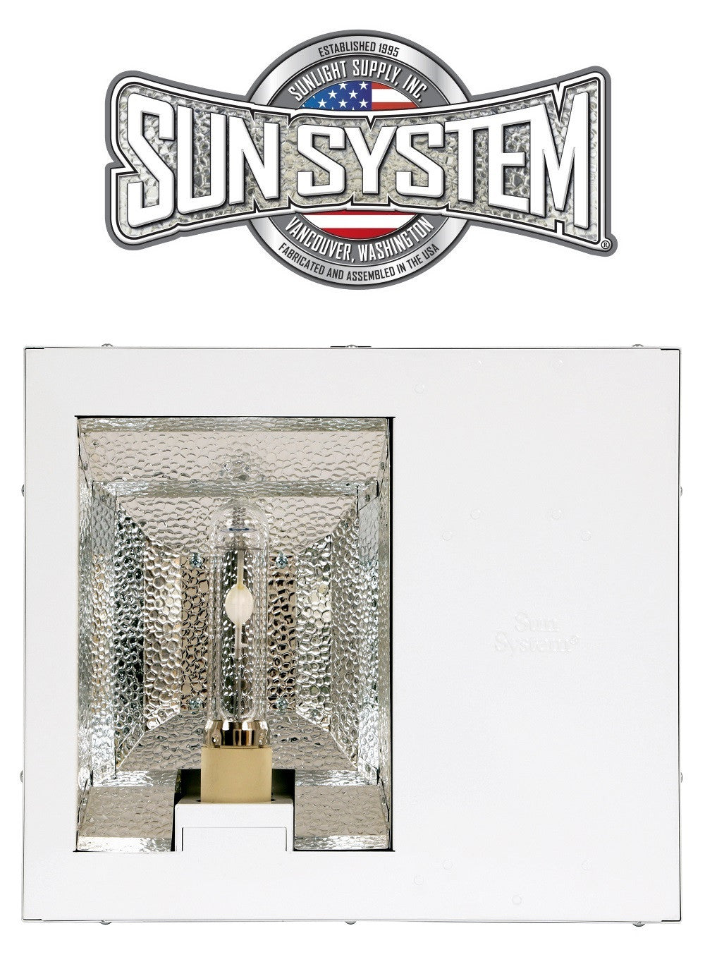 Sun System Diamond LEC 315W CMH Ceramic Metal Halide Light Fixture 208/240v