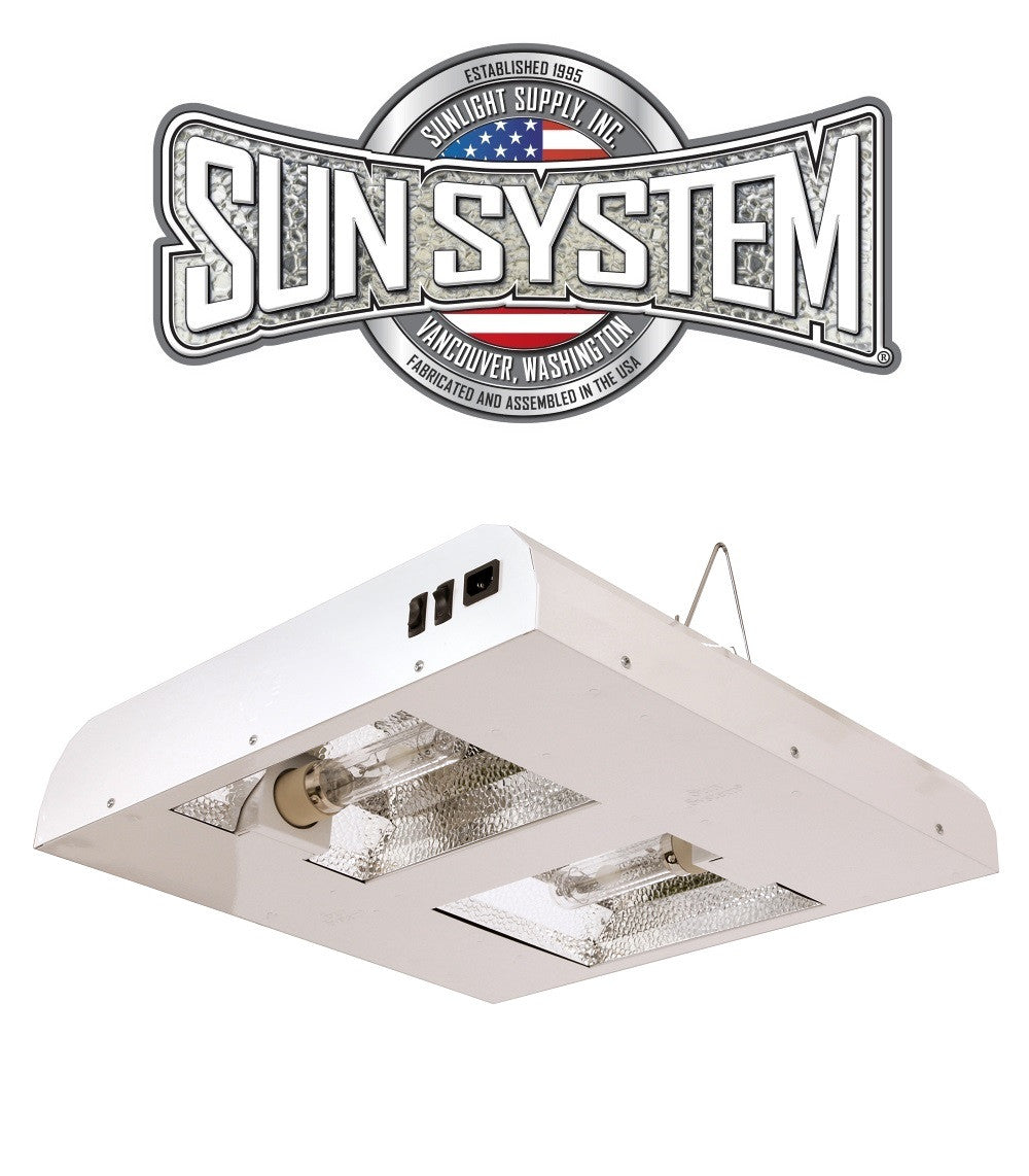 Sun System Diamond LEC 630W CMH Ceramic Metal Halide Light Fixture 120v