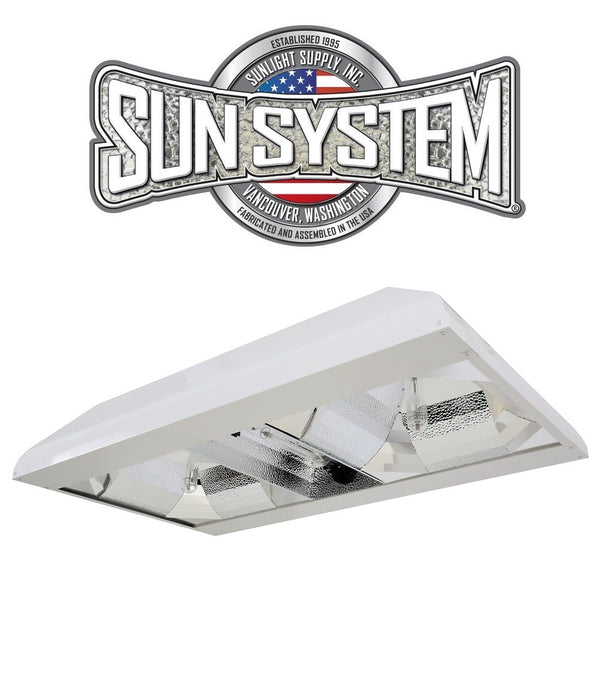 Sun System Grow Beast DE CMH Dual Reflector Double Ended Ceramic Metal Halide Light Fixture 208-240v