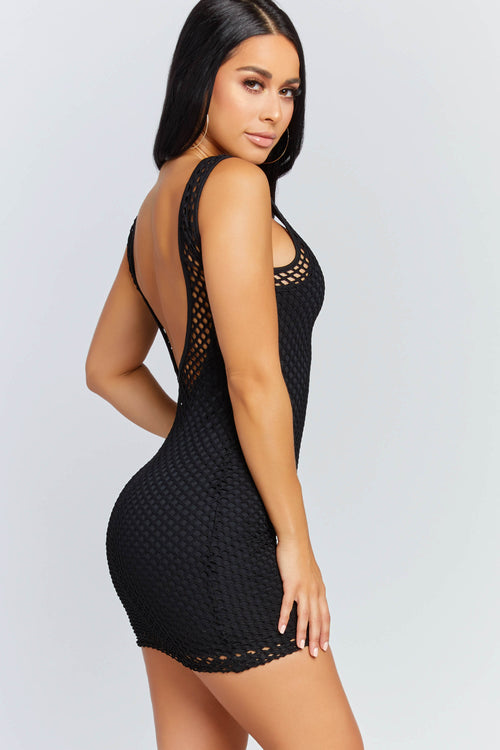 Counting Down Fishnet Dress