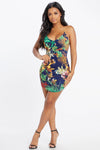 Coasting Tropical Dress
