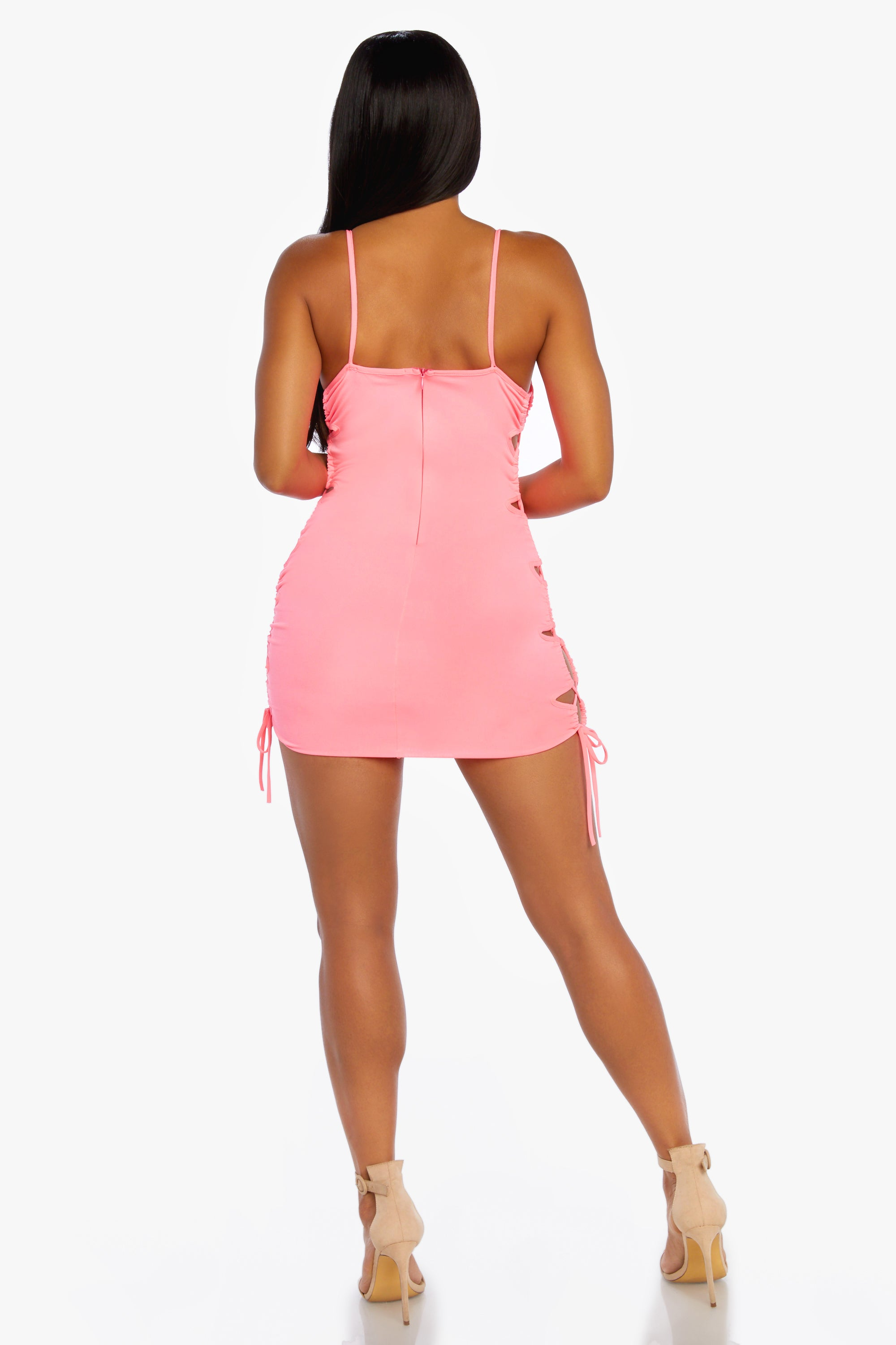 Side Eye Mini Dress