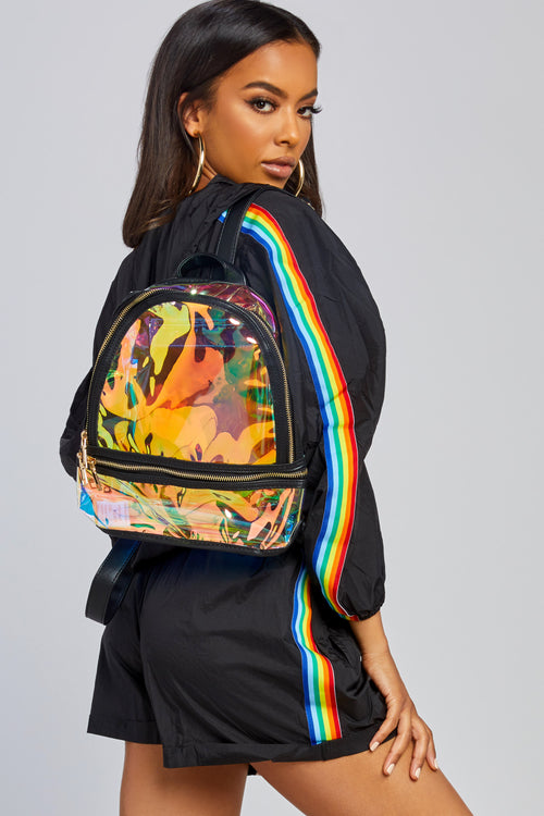 See It Through Mini Backpack