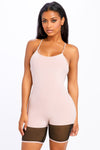 Won't Slow Down Mesh Romper