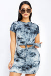 Lovely Night Tie Dye Dress