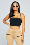 Hustle Crop Top