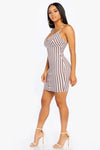 Breakdown Striped Dress