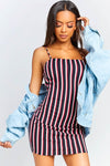 Yacht Party Stripe Dress