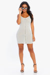 Chill Out Zip Up Dress