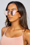 Double Heart Sunglasses