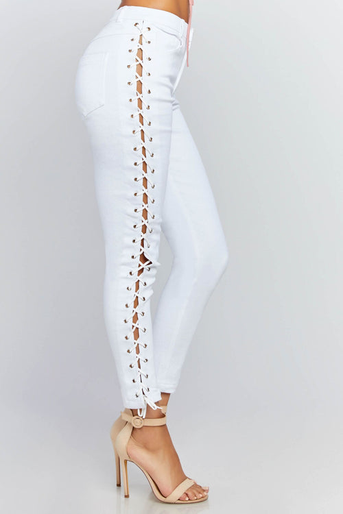 Autumn High Rise Jeans