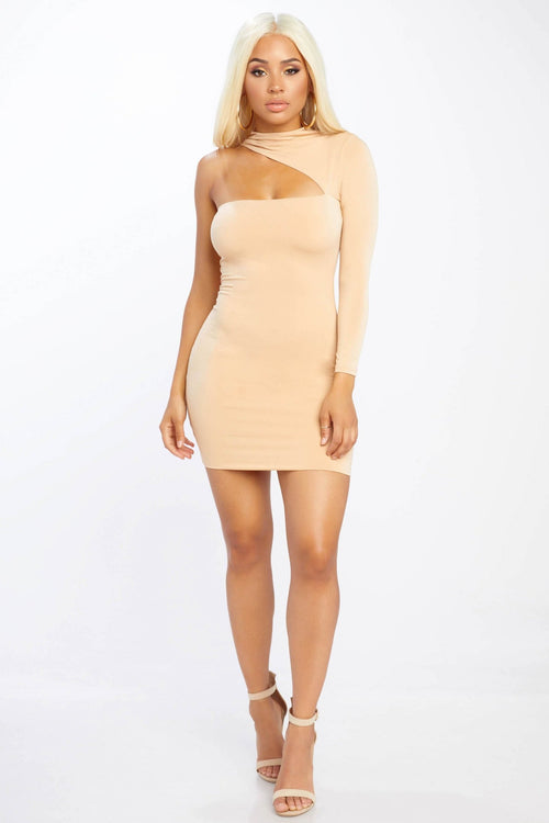 Raised Up Cut Out Dress