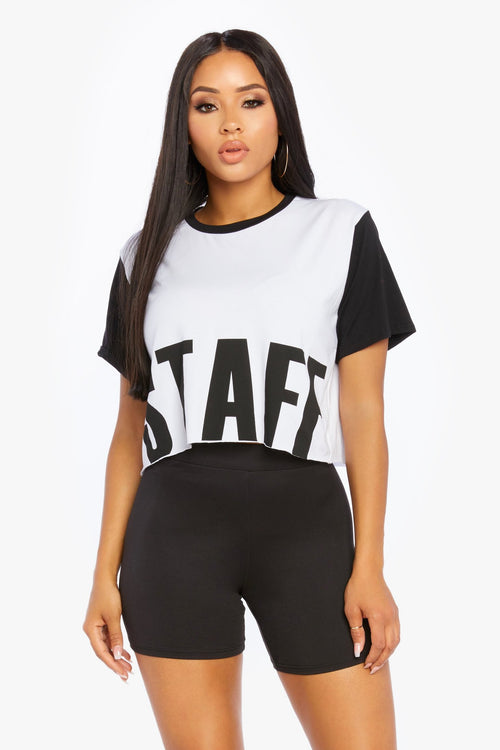 Staff Only Tee