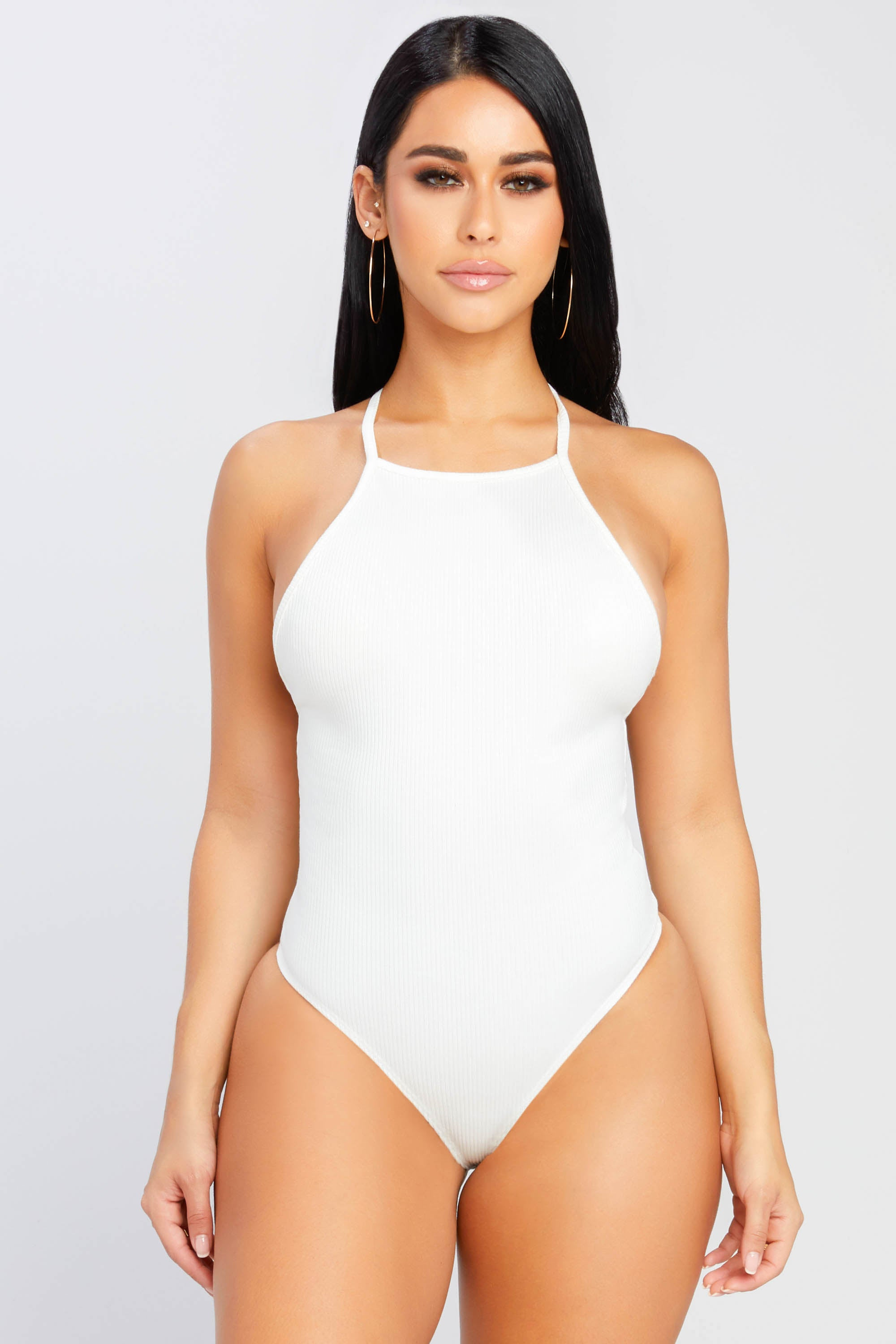 Get With It Ribbed Bodysuit