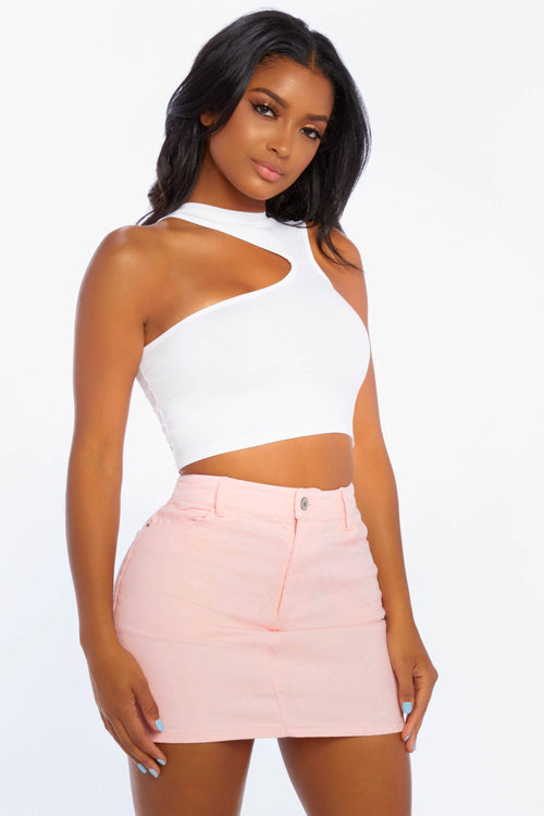 Sporty Spice Crop Top