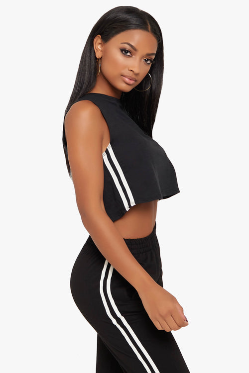 Adrenaline Crop Top