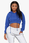 Crush It Cropped Hoodie