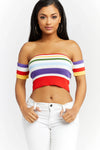 Taste The Rainbow Crop Top