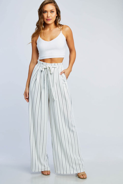 Go With It Striped Pants